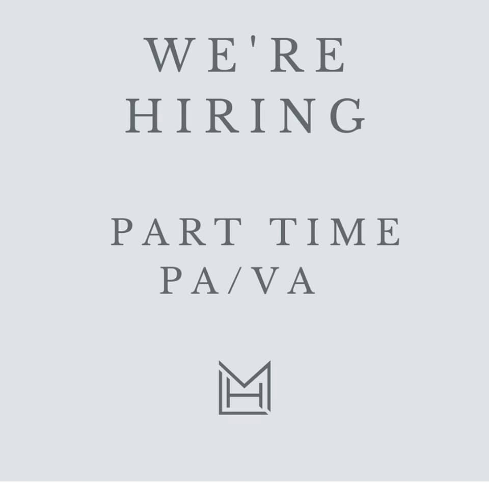 We are looking for a new PA to join our team!